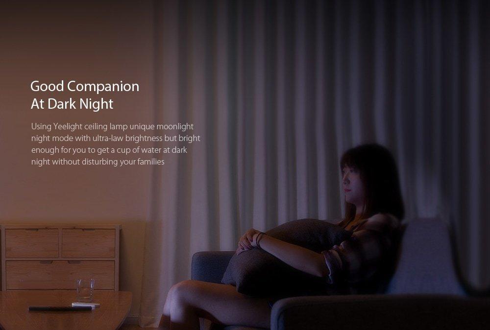 لامپ LED هوشمند شیائومی مدل 650 Yeelight JIAOYUE مجهز به وایفای و بلوتوث