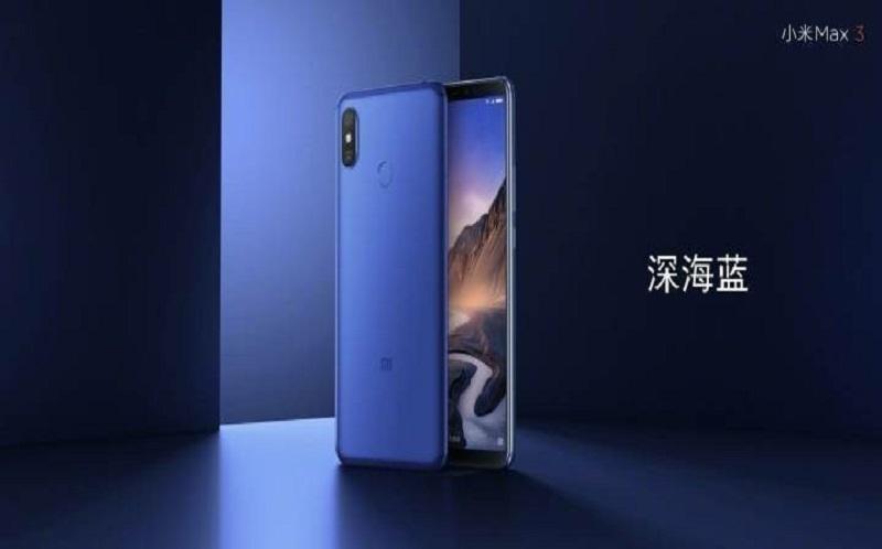 مشخصات گوشی Mi max 3 توسط شیائومی تأیید شد