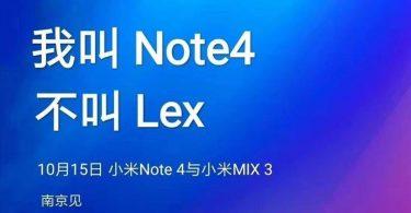 گوشی Mi Note 4