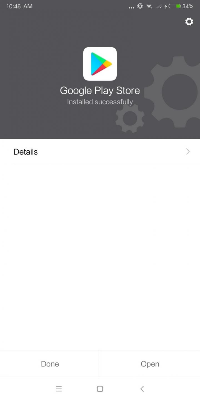 آموزش نصب google play بر روی گوشی Mi 6X شیائومی
