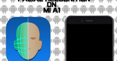 آموزش تنظیم تشخیص چهره در گوشی Mi A1 شیائومی