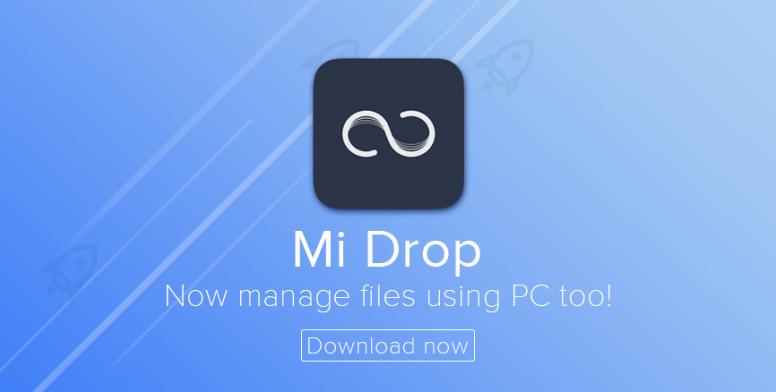 کنترل گوشی اندروید با کامپیوتر از طریق Mi Drop