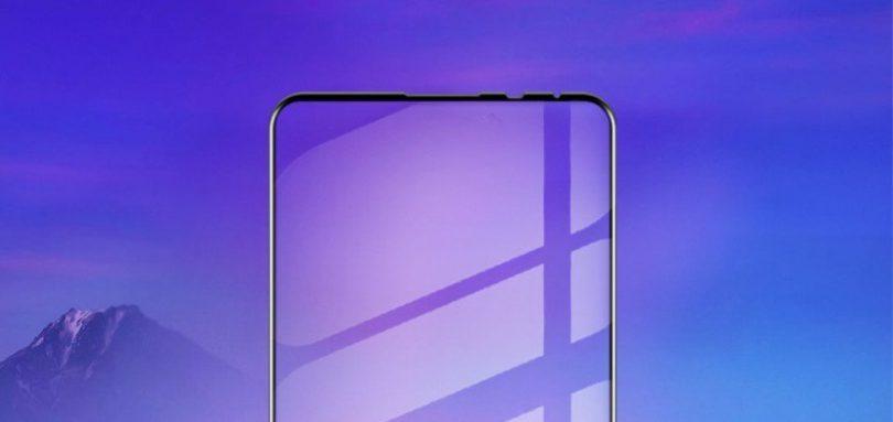 محافظ صفحه نمایش می میکس 3 نشان میدهد که حاشیه صفحه نمایش گوشی بسیار باریک است