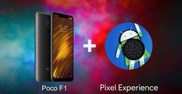 رام Pixel Experience برای گوشی Poco F1 عرضه شد