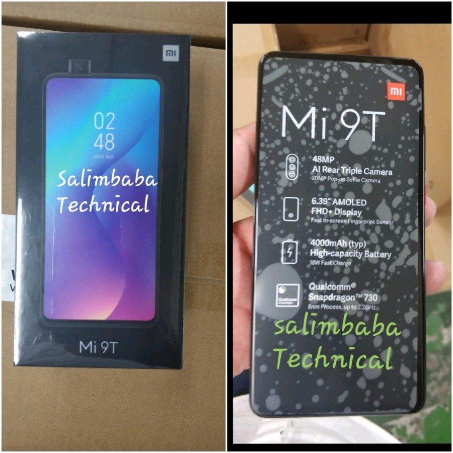 تصاویر جعبه گوشی Xiaomi Mi 9T منتشر شد