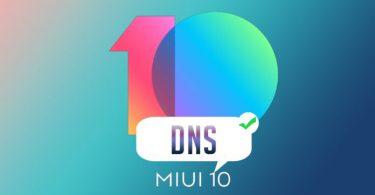 آموزش فعالسازی private DNS در رابط کاربری MIUI 10