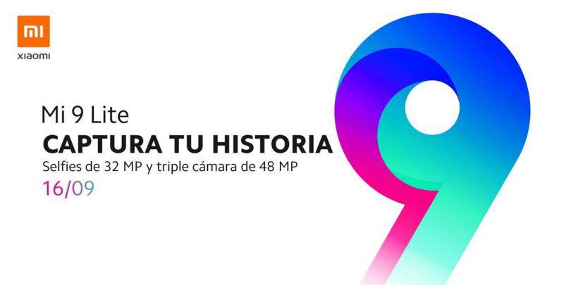 گوشی Mi 9 Lite شیائومی در تاریخ 16 سپتامبر در اسپانیا رونمایی می شود